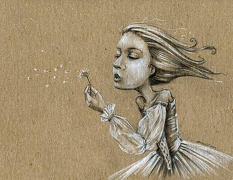 Dandelion Wishes by Michael Scholl