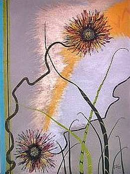 Dandelions Moderne by Cindy Watson
