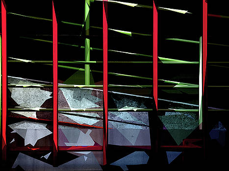 Dappled Railings by Steve Taylor