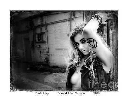 Dark Alley by Donald Yenson