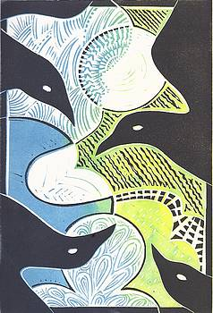 Dark Birds, Bright World by Jennifer Harper