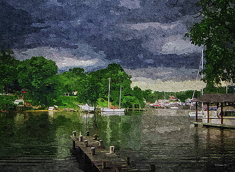 Dark Clouds Approaching - Oil FX by Brian Wallace