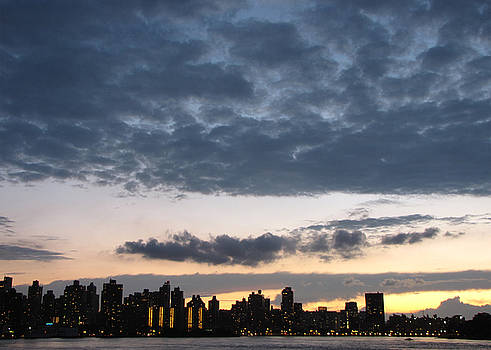 Dark Clouds Over NYC by Peter Aiello