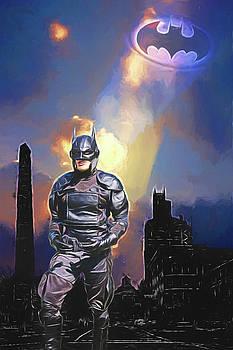 Dark Night of Gothamville by John Haldane