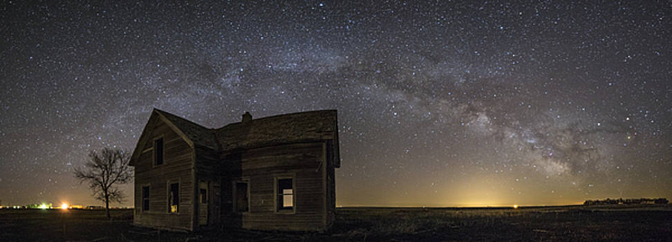 Dark Place pano by Aaron J Groen