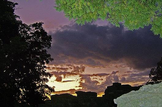 Dark Sunset by Skyler Tipton