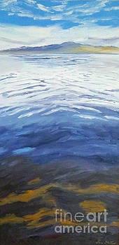 Dark Water, White wave by Jeni Bate