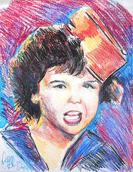 Jon Baldwin  Art - Darla Little Rascals