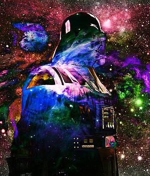 Darth Vader Abstract IX by Aurelio Zucco