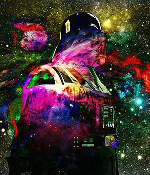 Darth Vader Abstract X by Aurelio Zucco
