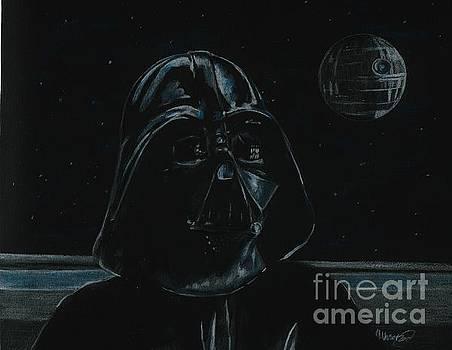 Darth Vader study by Meagan  Visser