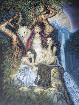 Daughters of The Night by Wayne Pruse