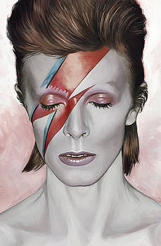 David Bowie Artwork 1 by Sheraz A