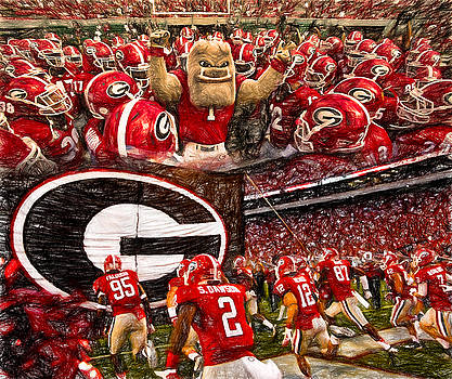 Dawgs 2015 Collage by John Farr