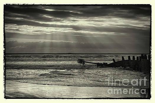 Dawn at Blyth Beach by John Cox