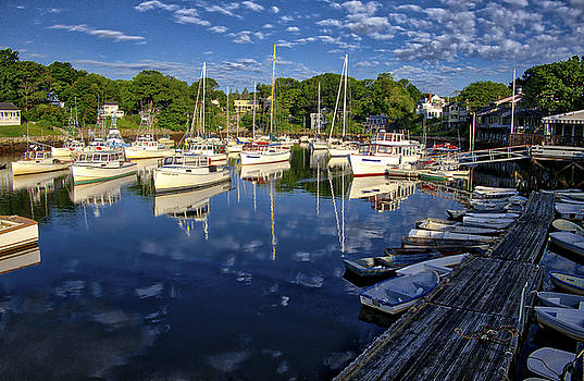 Steven Ralser - Dawn at Perkins Cove - Maine
