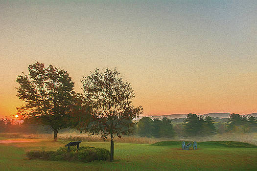 Dawn at Valley Forge by Jeff Oates Photography