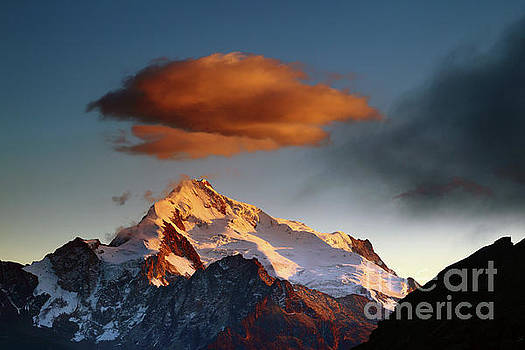 James Brunker - Dawn Cloud Above Mt Huayna Potosi 2