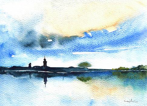 Miki De Goodaboom - Dawn In Lindau On Lake Constance