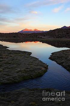 James Brunker - DAwn over Lauca National Park Chile