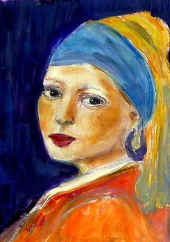 Day with Vermeer by Beth Sebring