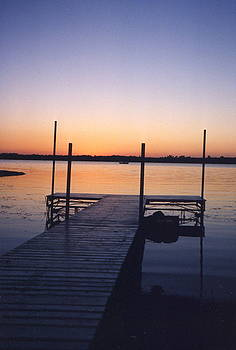 Daybreak on Fish Hook Lake by Patricia Maxwell