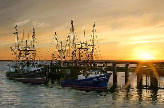 Daybreak by Sue  Brehant