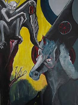 Dayglo Gargoyle by Darkest Artist