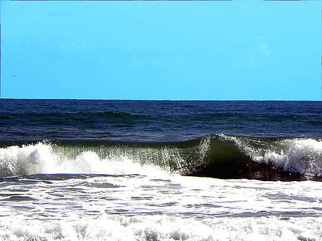 Daytona Beach Surf 000  by Chris Mercer