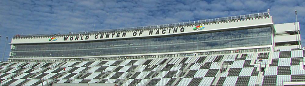 Daytona Frontstretch Grandstand by Victor Montgomery