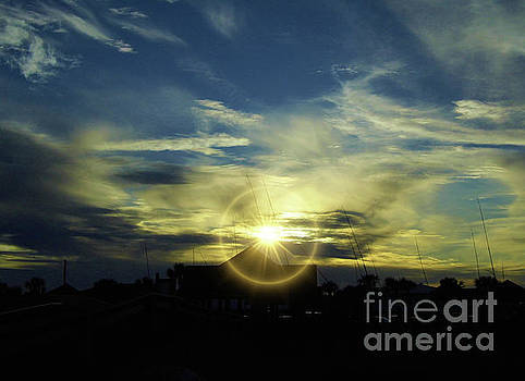 Dazzling Sunset by D Hackett
