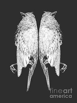 Edward Fielding - Dead Birds Tee White