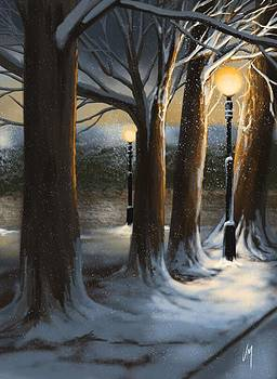 Dead of night by Veronica Minozzi