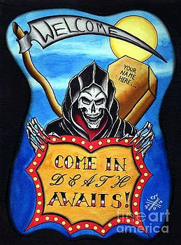 Death Awaits by Kev G