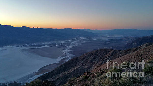 Gregory Dyer - Death Valley from Dante Peak