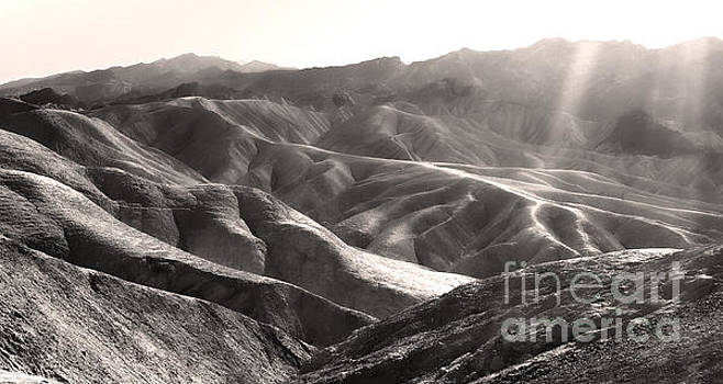 Gregory Dyer - Death Valley Zabriskie Point Sepia