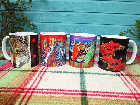 Debbie Chamberlin Coffee Mugs 01 by Debbie Chamberlin