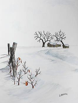 December Drifts by Jack G Brauer