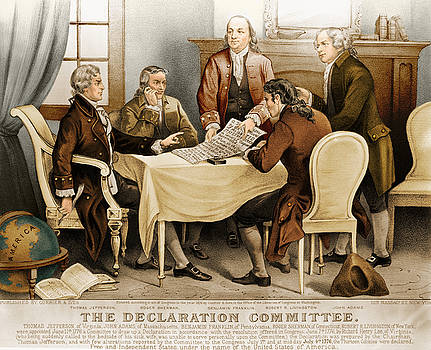 Photo Researchers - Declaration Committee 1776