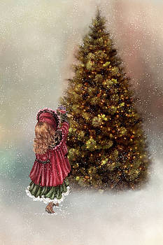 Decorating Tree by Mary Timman