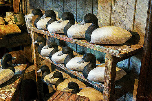 Decoy Carvings by Brian Wallace