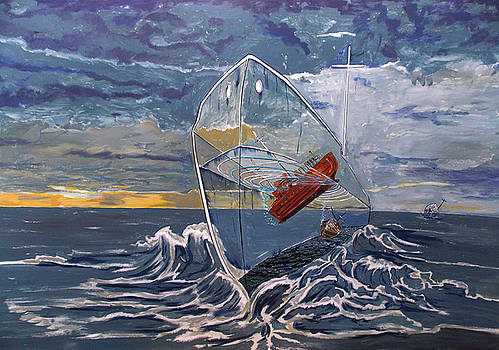 Deeper...into the sea by Lazaro Hurtado