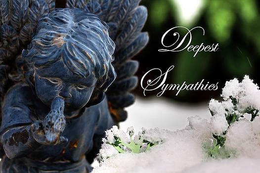 Deepest Sympathies Angel by Shelley Neff