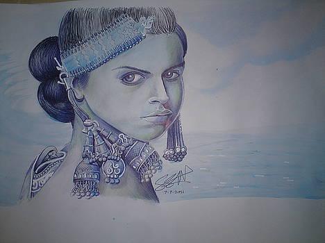 Deepika Pandukone Hardcore Traditions by Sandeep Kumar Sahota