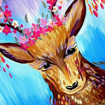 Deer Design by Cathy Jacobs
