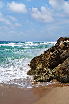 Deerfield Beach by Judy Hall-Folde
