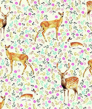 Deers by Uma Gokhale