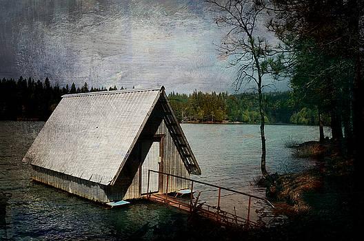 Dee's Little Boat House  by Pamela Patch