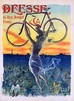 Deesse Cycles 1898 Vintage Advertising Poster by Carsten Reisinger