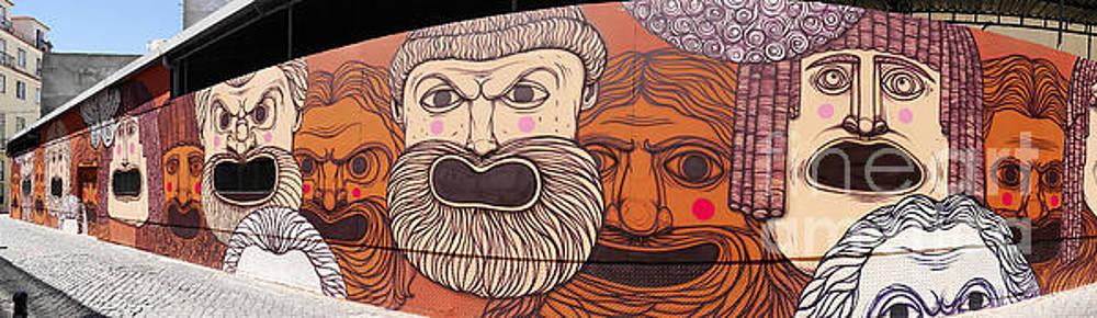 Defiant Graffitti by Brenda Kean